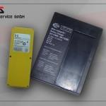 Ladegerät HBC für Akkus gelb (2x6V)