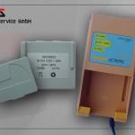 Ladegerät Hetronic Mini für Akku grau (3.6V)