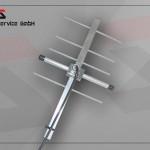 Antenne directionnelle Yagi 868MHz