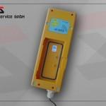 Ladegerät Hetronic für Akku gelb mit Schnappverschluss (9.6V)